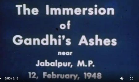 Rare Footage of Mahatma Gandhi Presented by Leonard Theological College